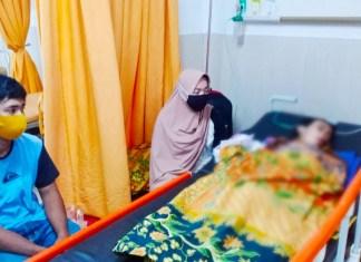Utus Andalan Sulsel Peduli, Plt Gubernur Bantu Bocah Penderita Tumor Otak di Takalar
