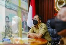 Antisipasi Lonjakan Covid 19 Jelang Lebaran, Danny Pomanto Hadiri Rakor bersama Mendagri