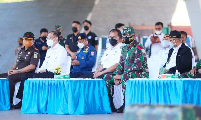 Cegah Lonjakan Kasus Covid 19, Danny Hadiri Apel Gelar Pasukan Jelang Idul Fitri