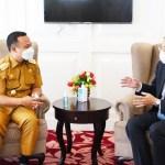 Kunjungan Konsuler Jepang yang Baru, Plt Gubernur Sulsel Harap Kerjasama Terus Terjalin