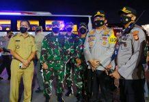Walikota Danny Pomanto Dampingi Plt Gubernur Sulsel Pantau Pos Pengamanan Lebaran