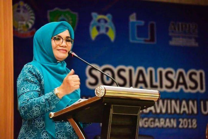 Istri Gubernur Sulsel non aktif, Nurdin Abdullah, Liestiaty Fachruddin