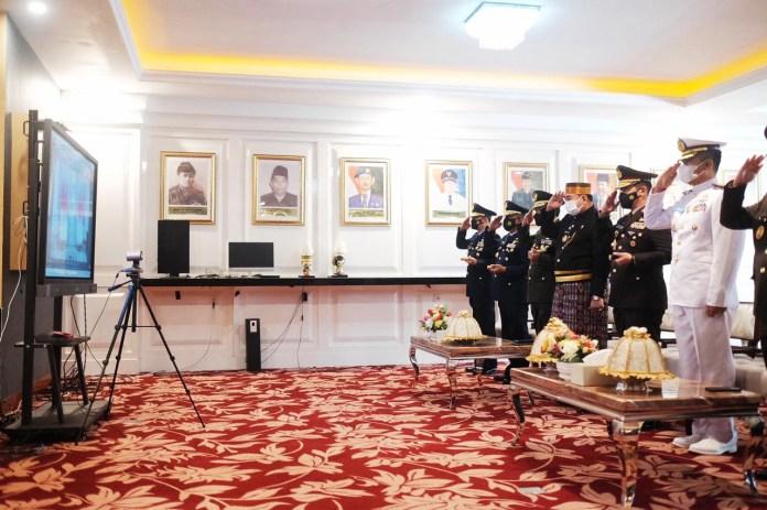 Hari Lahir Pancasila, Sekprov: Pancasila falsafah hidup bangsa dan semangat memberikan perlindungan masyarakat