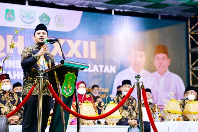 Tutup STQH ke-32, Plt Gubernur harap Sulsel dapat menjuarai STQH tingkat Nasional