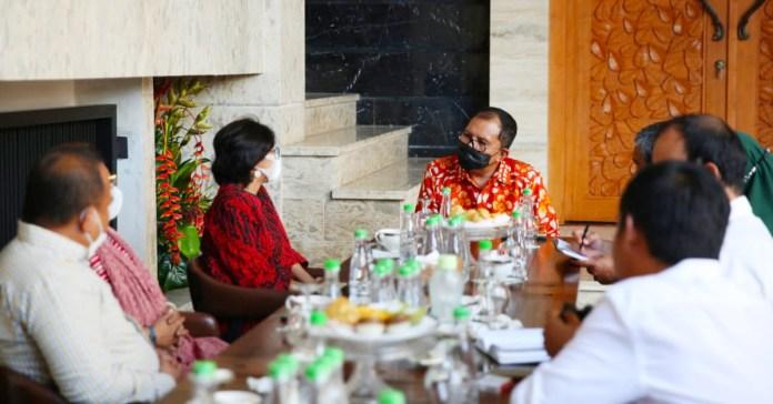 Dewan Eksekutif Nasional Walhi Temui Danny Bahas PNLH Ke -32 Di Makassar