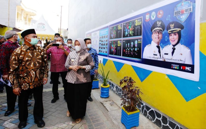Menko PMK RI Apresiasi Upaya Pemkot Makassar Tekan Laju Covid-19