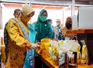 Ketua TP PKK Makassar, Resmi Buka UMKM Biringkanaya Expo 2021