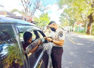 Samsat Jeneponto Razia Sambil Sosialisasikan Penghapusan Denda Pajak Kendaraan