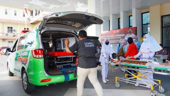 KolaborAksi Donatur Bersama Dompet Dhuafa Sulsel, Hadirkan Ambulans Bagi Warga Kurang Mampu