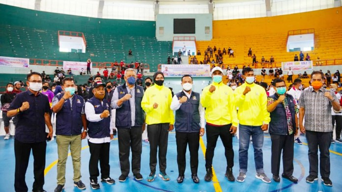 Target Juara di PON XX Papua, Plt Gubernur Semangati Atlet