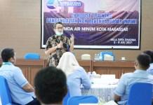 PDAM Makassar Gelar Pelatihan Inhouse Training Pengendalian Kehilangan Air