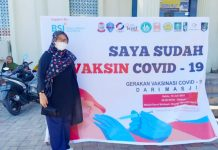 Bantu Putus Rantai Covid-19, Gabungan OKP Makassar Gelar Vaksinasi Massal