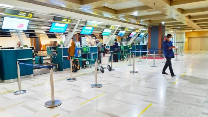 Jelang Lebaran Idul Adha, Aktivitas Penumpang di Bandara SHM Sepi