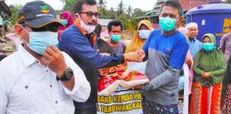 KKT Gowa Serahkan Bantuan Kepada Korban Bencana Banjir Jeneponto
