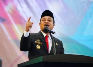 Andi Sudirman Sulaiman, Pelaksana Tugas Gubernur Sulawesi Selatan.