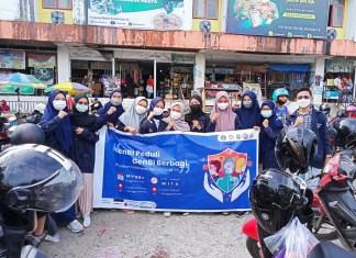 GenBi Komisariat UIN Alauddin Makassar Gelar Aksi Peduli dan Berbagi