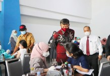 Wisata Vaksin bersama OJK-PHRI-Yayasan Anak Bangsa