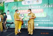 Prof Jufri Tutup Ramadhan Fair Hardiknas