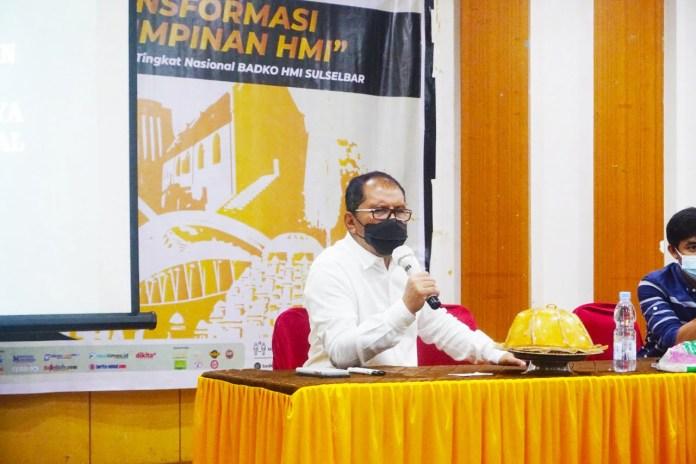 Narasumber di LK III HMI, Wali Kota Makassar Tekankan Adaptasi Covid-19