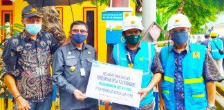 PLN Listriki Tujuh Dusun di Ulumanda dan Malunda Sulbar