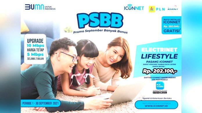 Pasang ICONNET, Nikmati Promo Biaya Tambah Daya Hanya Rp202.100