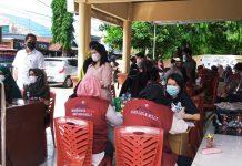 Gerai Vaksin Presisi Polsek Manggala, Gandeng 3 Rumah Sakit di Makassar