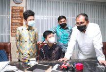 Minta Dukungan, Tiga Siswa MAN 1 Wakili Kota Makassar Lomba Asean Robotic Day