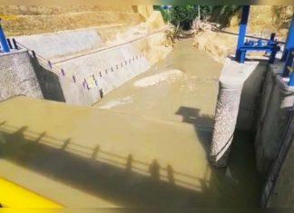 Tahap Dua On Progres 85 Persen, Bendung Lalengrie di Bone Aliri 700 Hektar