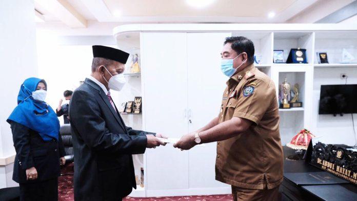 Sekprov Lantik Marjani Sultan sebagai Pejabat Fungsional Pemprov Sulsel