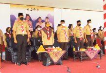 Suhartina Bohari Buka Jambore Ranting II Simbang