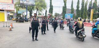 Polisi Terus Edukasi Warga Agar Tak Lengah Pada Bahaya Virus Corona