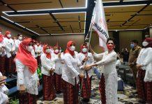 Abdul Hayat Lantik DPD Perempuan Indonesia Maju Provinsi Sulsel