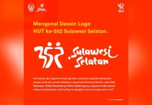 Sulawesi Selatan Masuki Usia 352 Tahun, Berikut Makna Logo HUT Sulsel 2021