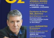 Amos Oz la Bucureşti, 27–28