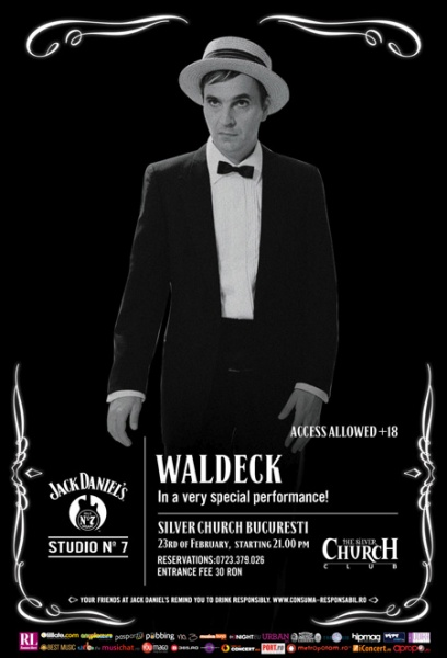 Concert Waldeck @ The Silver Church