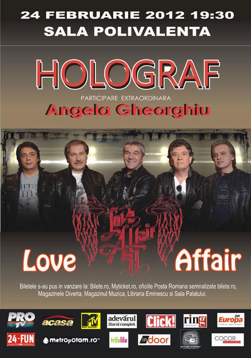 Love Affair cu Holograf de Dragobete!