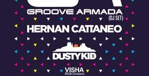The Mission: Groove Armada (DJ set), Hernan Cattaneo, Dusty Kid @ RomExpo