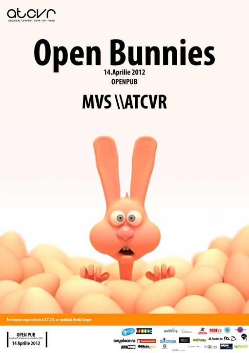 Open Bunnies cu A.T.C.V.R. @ OpenPub