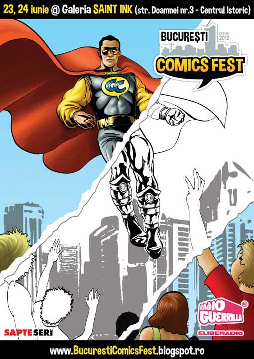 Bucuresti ComicsFest 23,24 iunie@ Saint Ink