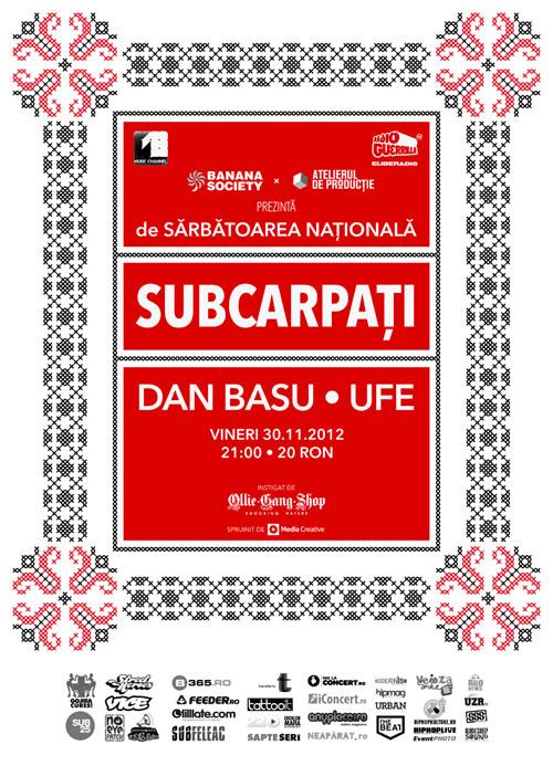 Aniversare 2 ani de Subcarpati @ Atelierul de Productie de Sarbatoarea Nationala a Romaniei