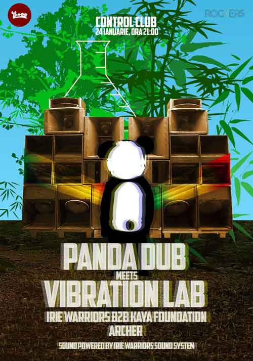 Panda Dub meets Vibration Lab @ Control Club
