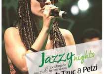 JAZZY NIGHTS @ ENERGIEA cu TZUC & PETZI
