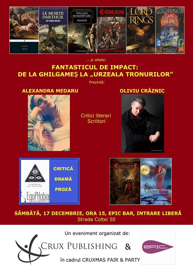 Fantasticul de impact de la Ghilgames la Urzeala Tronurilor : 17 decembrie