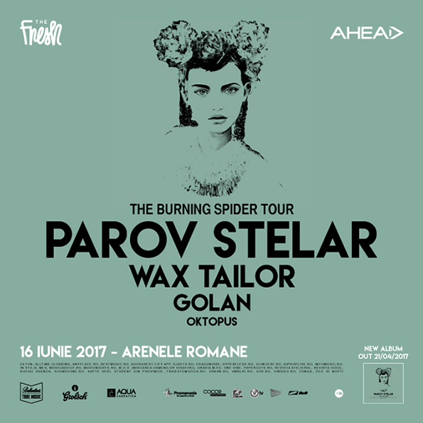 Parov Stelar @ Arenele Romane | Bucharest | 16 iunie 2017
