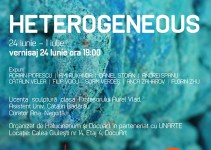Vernisajul HETEROGENEOUS @ Galeria Halucinarium
