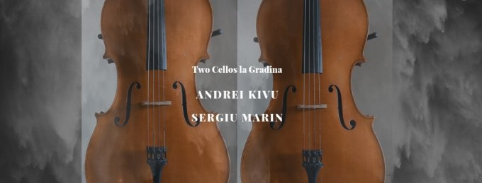 Concert Two Cellos la Gradina @ Gradina Sticlarilor