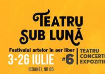 Festivalul Teatru sub luna 2020 powered by InDArt - festival de arta in aer liber!