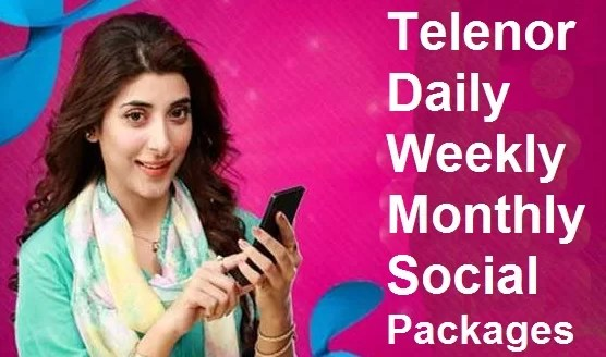 Telenor internet package 3G and 4G