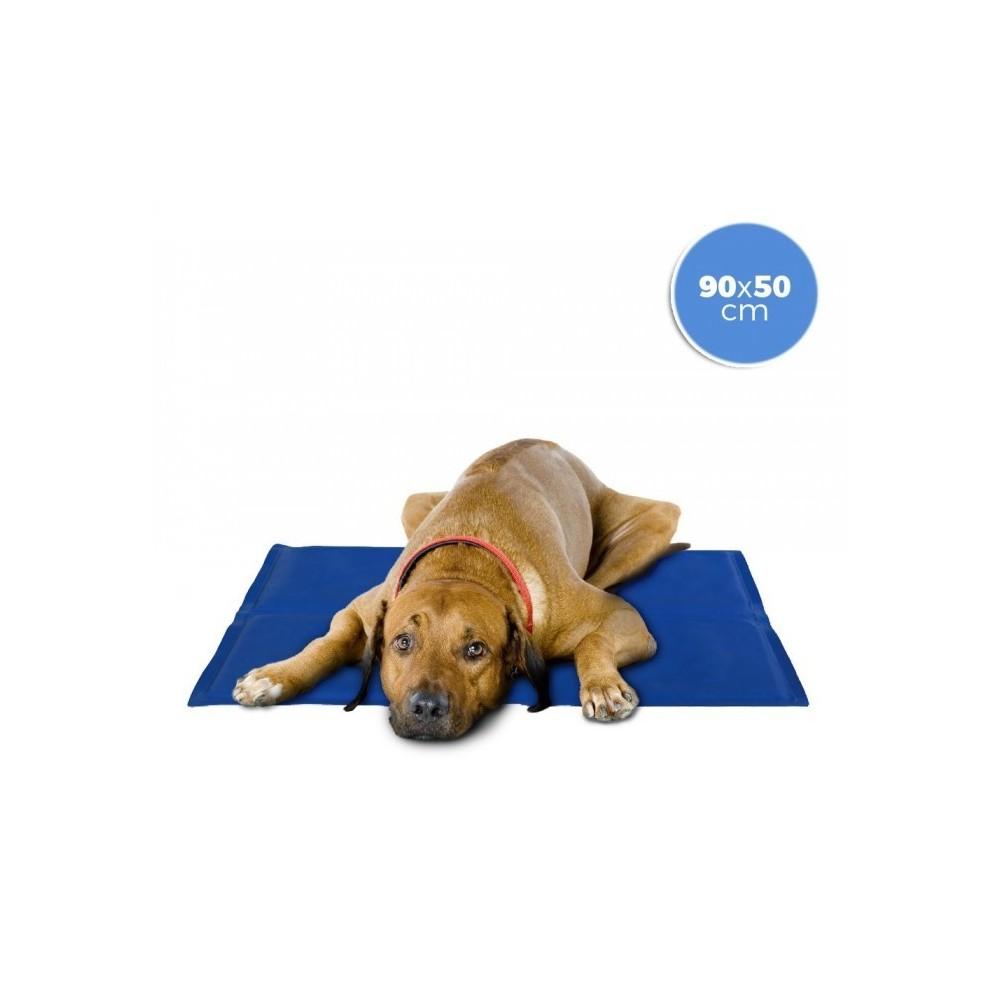 37103 tapis rafraichissant 90x50 cm pour chien grande taille avec gel
