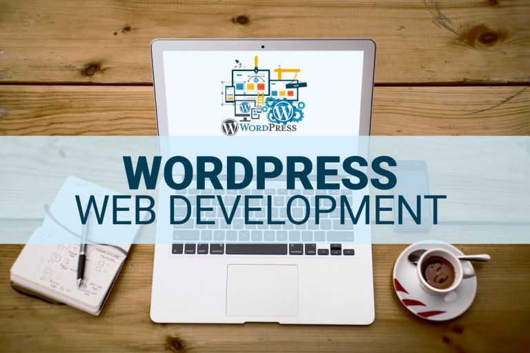 WordPress website.